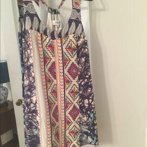 Tibi print shift dress, size S.